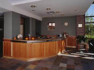 YC reception area